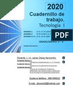 1er CUADERNILLO TECNOLOGIA 1