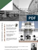 Sessezion en Austria y el Liberty en Italia