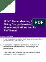 UHV2 M0 Course Overview