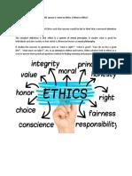 M1 Lesson 1 Ethics