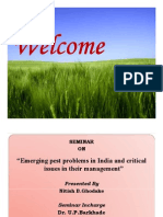 Emerging Pest Problems in India and Critical Issues in Their Management
