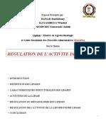 régulation de l'activité de la lipase.pptx