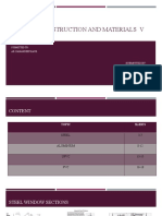 Building construction and materials 5