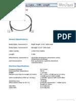 (52621400059) DM- DM RA Half Inch Flex Jumper Spec Sheet