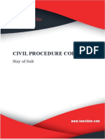 Code of Civil Procedure- Model Note- Stay of Suit.pdf