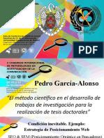 El método científico en el desarrollo de trabajos de investigación para la realización de tesis doctorales.pptx