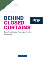 FNF_Behind Closed Curtains_Desinformation auf Messengerdiensten_web