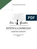 MARKETING EVA'S GARDEN COSMETOLOGIA A DOMICILIO