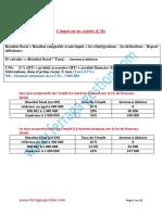 Fiscalité-cours-résumé-de-lIS