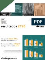 Press Release Dos Resultados Trimestrais Cyrela Commercial Properties CCPR3 2t20 2020