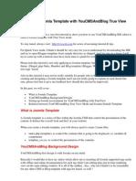 Designing Joomla Template with YouCMSAndBlog True View