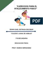 Edwin Gael Estrada Escobar 1B NL. 7 EJERCICIOS BASICOS