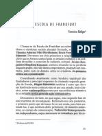 #Escola de Frankfurt - Opinião Pública