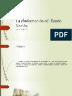 La conformación del Estado Nación en Chile