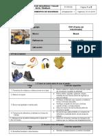 ST-PR-08 Procedimientos de seguridad (Centro de mecanizado)
