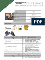 ST-PR-08 Procedimientos de seguridad (CNC Multiplex 620)