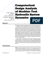 computerised analysys of hydraulic system