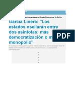 Nota P12 sobre conferencia Linera