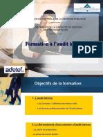 Formation à l'Audit Interne, TGR