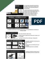 símbolos principales - hidraulica
