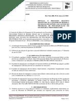 edital n 011-2020- ppgsof - processo seletivo destinado ao cadastro de reserva de bolsas de estudo