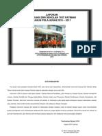 Laporan Evaluasi Diri Sekolah TKIT Fatimah Tahun Ajaran 2010-2011