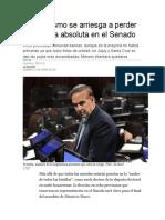25-06-El peronismo se arriesga a perder la mayoría absoluta en el Senado