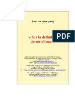 Sur la Défenition du Socialisme - Durkheim.pdf
