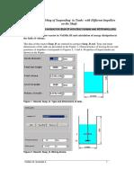 3 DI Modeling of Suspending in Tanks