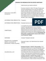 HOJA PROCESAL DE LA DEMANDA POR INDEMNIZACIÓN POR DESPIDO ARBITRARIO.docx