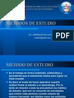 Metodos de estudio 2014