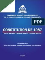 COMMISSION SPÉCIALE SUR L'AMENDEMENT DE LA CONSTITUTION DE LA CHAMBRE DES DÉPUTÉS