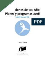 E.F Planeación 1er Año interactivo