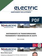 MANTENIMIENTO DE TRANSFORMADORES-TRATAMIENTO Y REGENERACION DE ACEITES_T.._