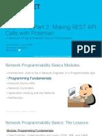 REST APIs Part 2 - Making REST API Calls with Postman.pdf