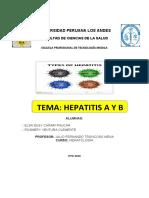 MONOGRAFIA DE HEPATITIS A Y B
