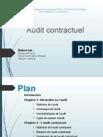 Présentation 6 Audit contractuel