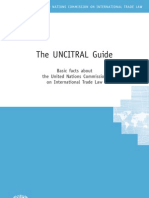 UNCITRAL Guide United Nations Commission on International Trade Law