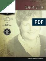 A Special Selection of 8 Original Piano Solos Carolyn Miller