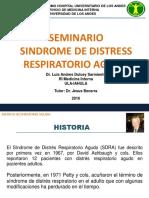 SEMINARIO SINDROME DE DISTRESS RESPIRATORIO AGUDO LUIS DULCEY