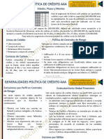 Generalidades Política Crédito ExcelCredit AAA