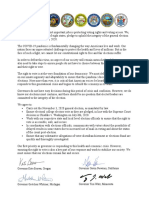 Multi Governor Election Integrity Letter