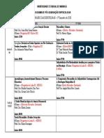 Calendario 1sem2020 - disciplinas