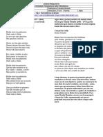 Língua Portuguesa - Atividade 05 - 2º ano
