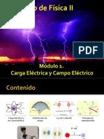 Módulo 1. Carga Eléctrica y Campo Eléctrico. ( I Parte)