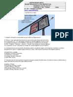 Língua Portuguesa - Atividade 09 - 2º Ano