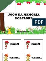 Jogo da memória Folclore