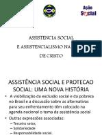 ASSISTENCIA SOCIAL E ASSISTENCIALISMO