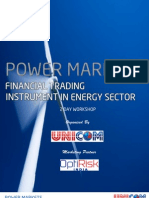 Power Markets-Financial Trading