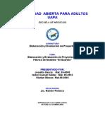 1-STALIN - MODELO DE NEGOCIO - ELABORACION Y EVALUACION DE PROYECTOS-TRAB. FINAL